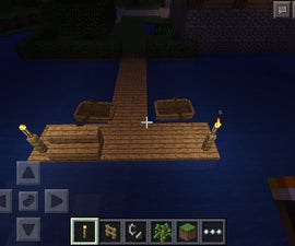 How To Make A Dock In MCPE