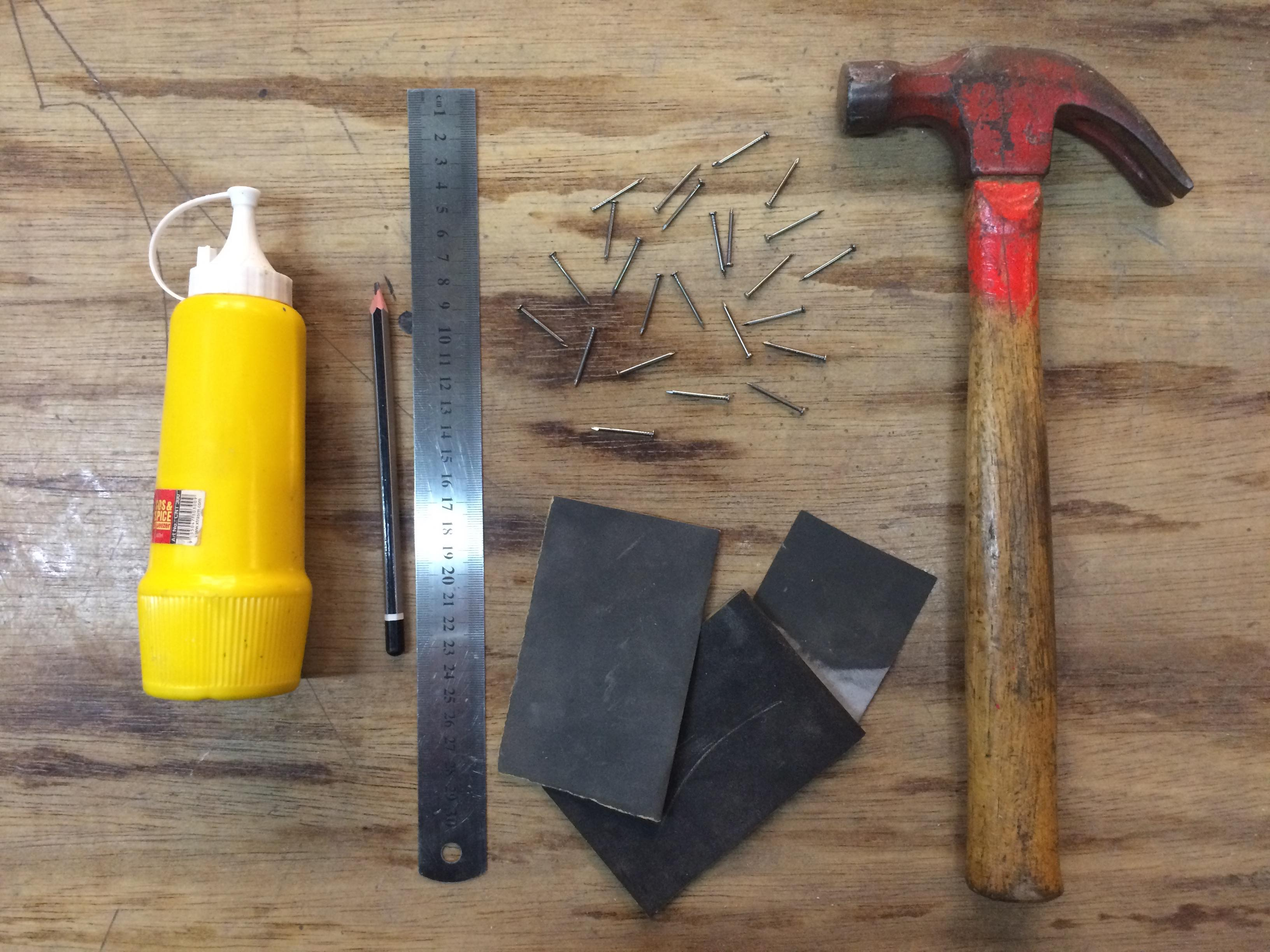 Picture of Gathering Your Materials and Tools