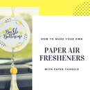 Paper Air Freshener DIY