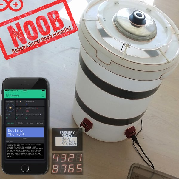 Automated All Grain Electric Beer Brewery for 100 €/USD
