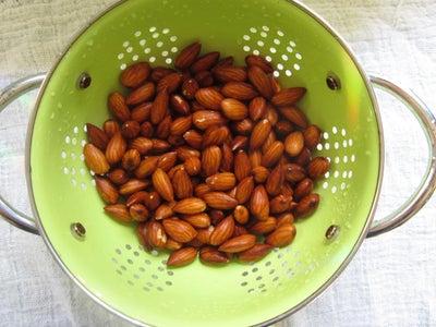 Rinse Almonds
