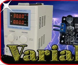 Diy Variable Lab Power Supply
