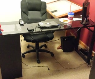 Ikea-Inspired Desk
