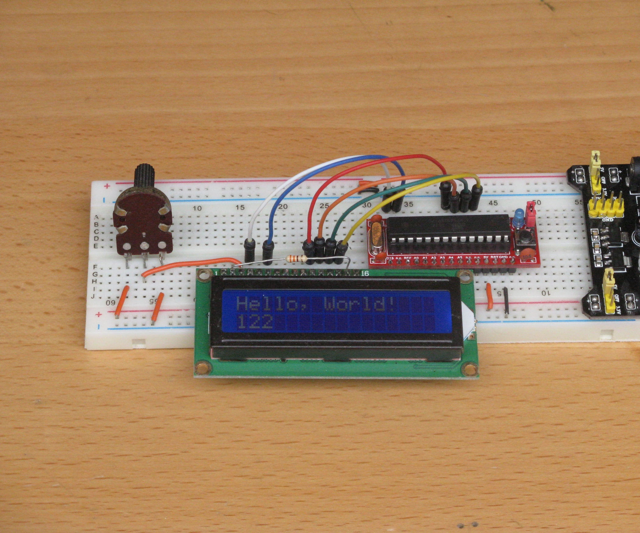 Arduino Bread Board Buddy 12 Steps Circuit Led Flasher Universal 3v Circuits Designed By