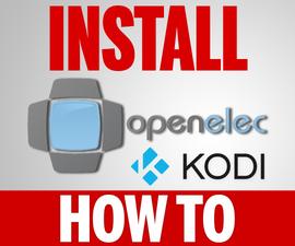 How to Install Kodi OpenElec on a Raspberry Pi 3, 2, 1, B+ or 0