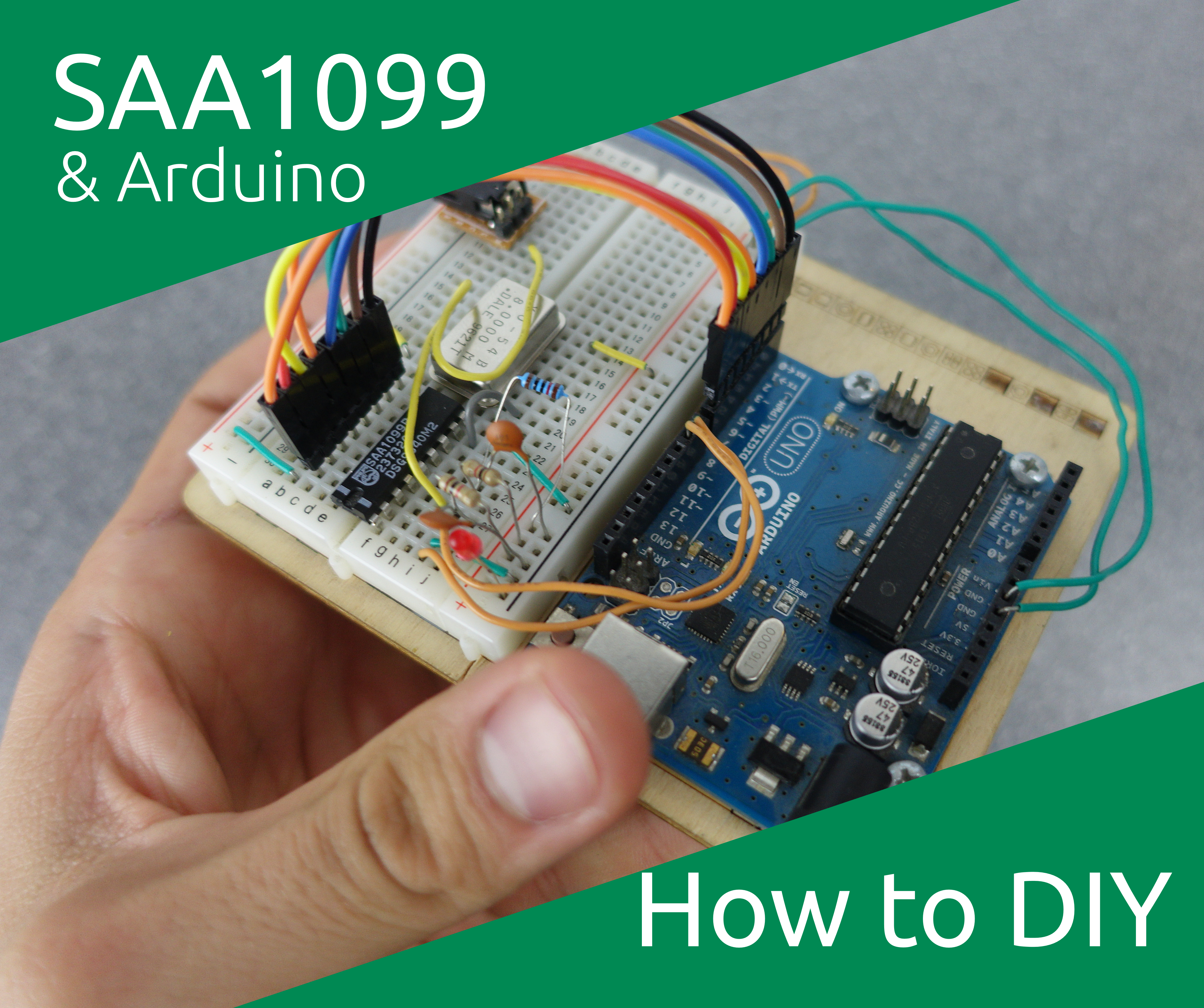 Picture of Retro Sound Chip With an Arduino - the SAA1099