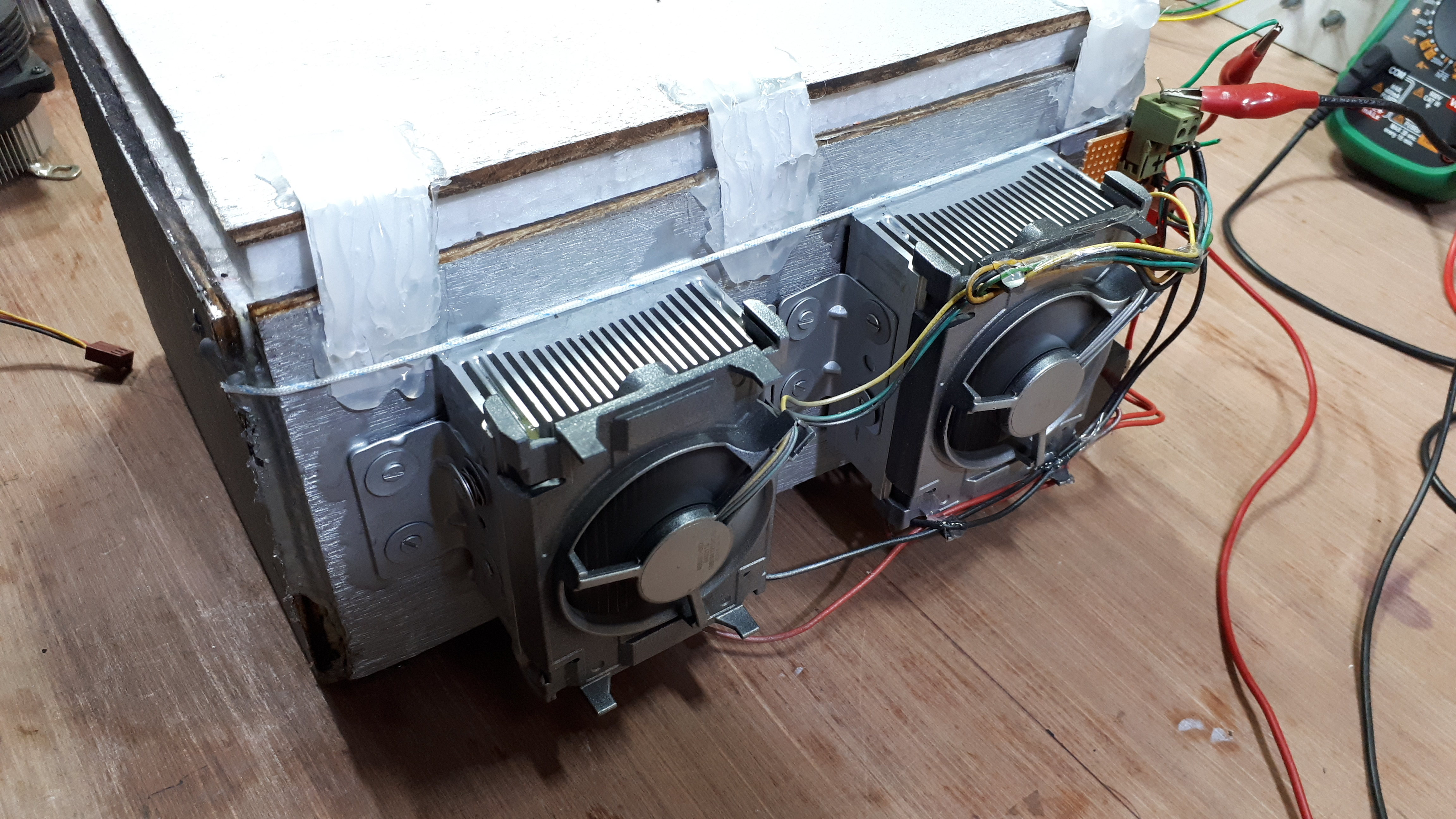 Picture of Peltier With Cooling Fan