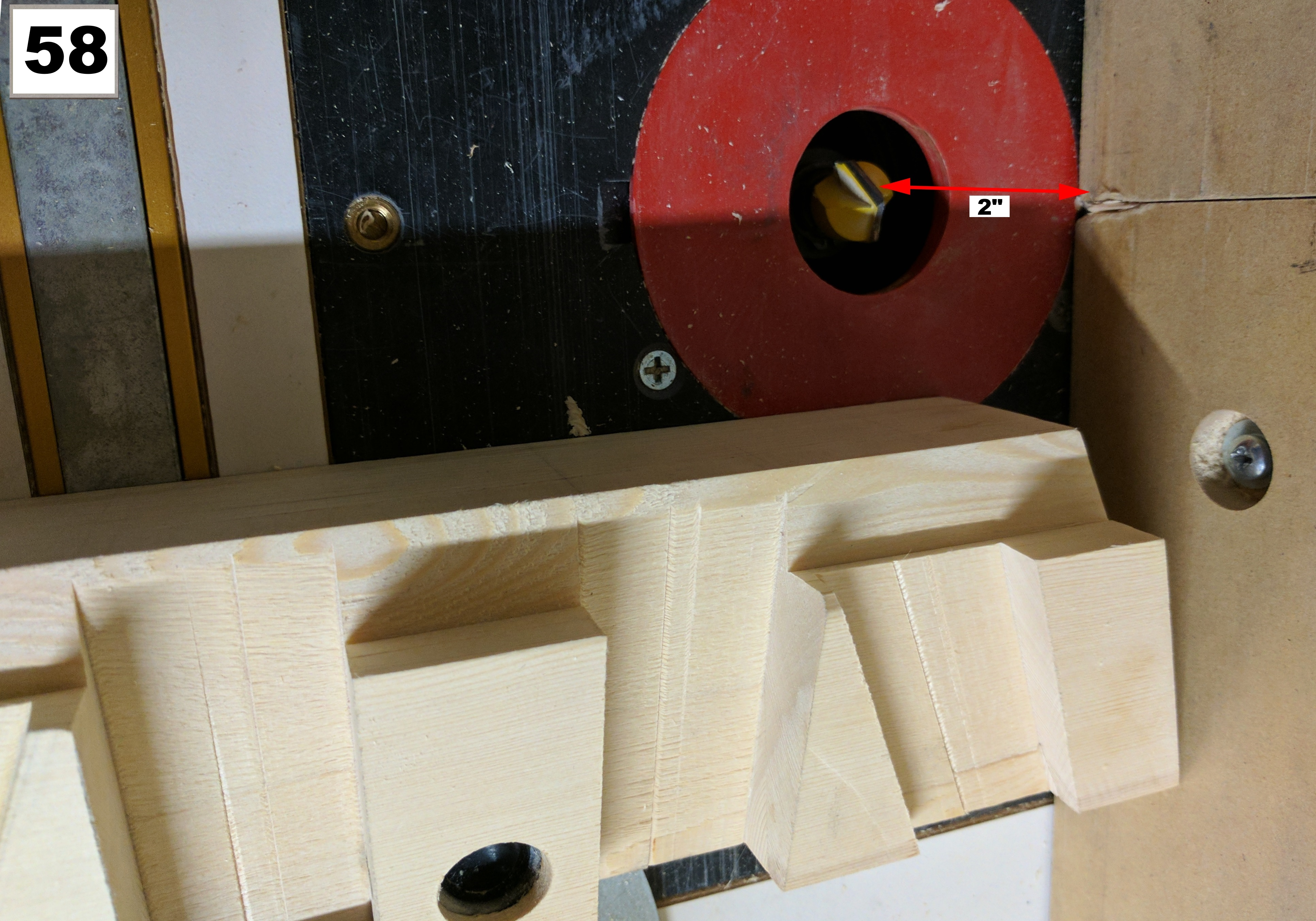 Picture of The Vise Back Plate and Rear Stretcher