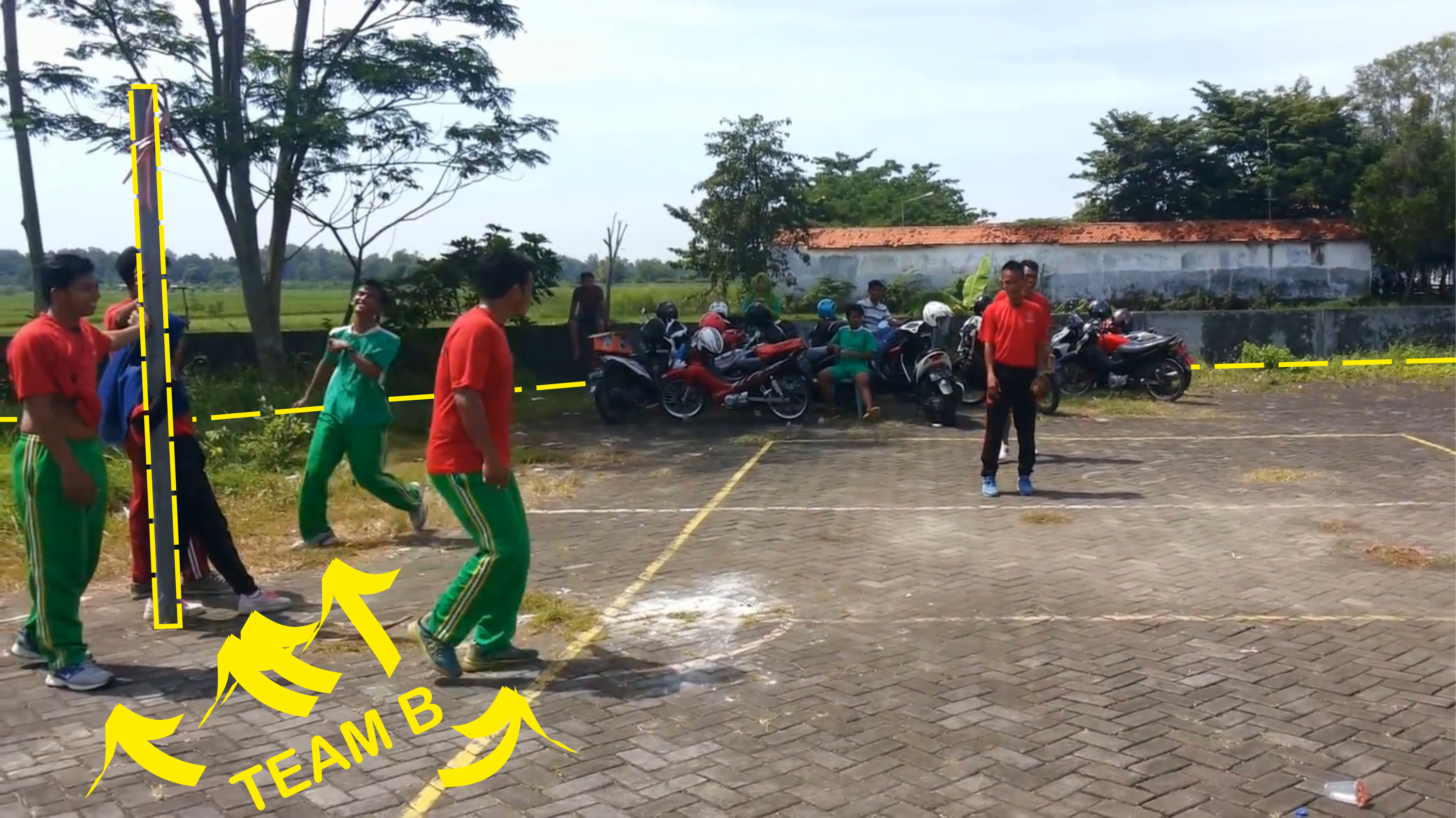Picture of Outdoor Game for Fitness: Bentengan
