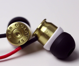 DIY Bullet Headphones
