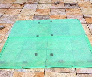 DIY Simple Tent Ground Cloth + Optional Waterproofing Layer