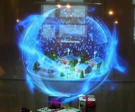 Holographic Jukebox (Intel IoT)