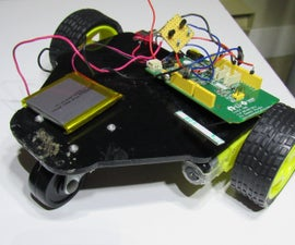 Linkit ONE Internet Controlled Robot!