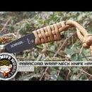 Paracord Neck Knife Handle Wrap