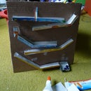 easy to make cardboard marble run