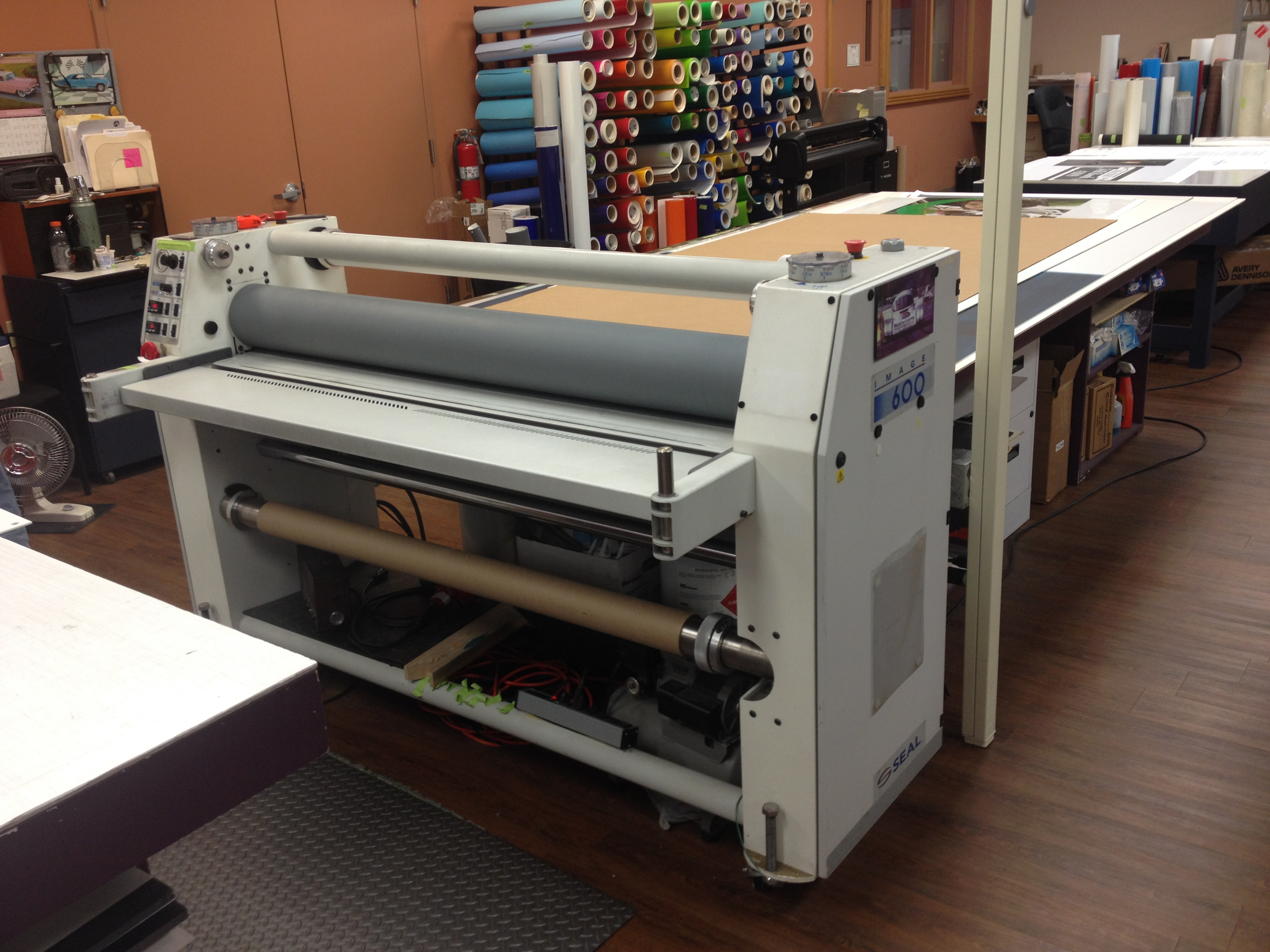 Picture of Printing and Laminating Your Steve Skin.