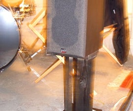 Make your own Speaker Stands