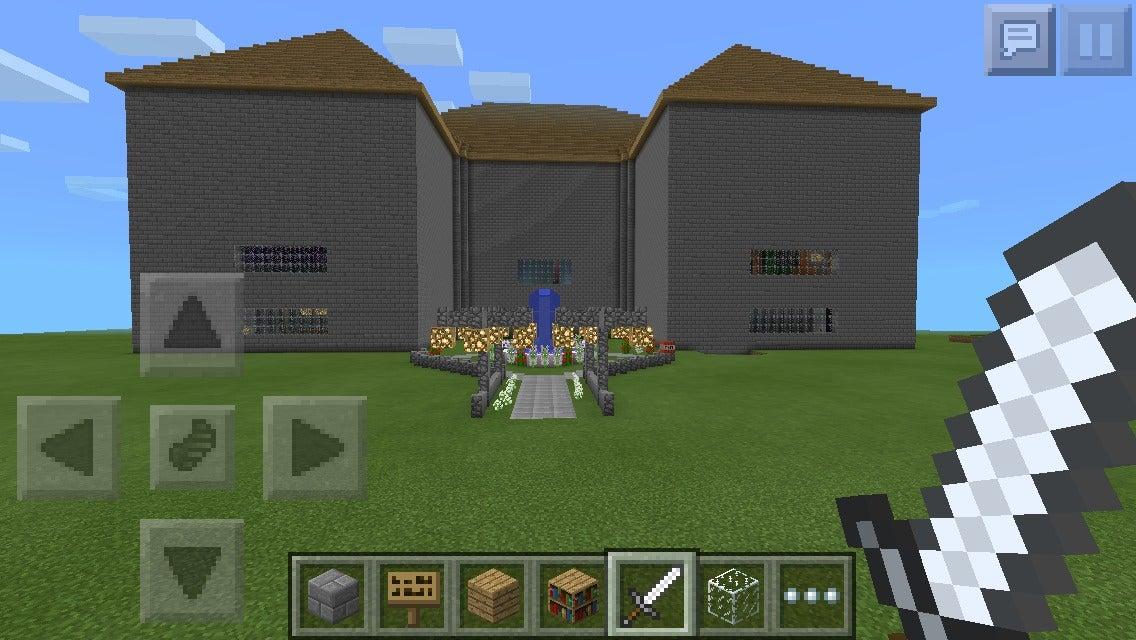 minecraft mansion tutorial step by step