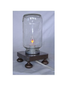 Mad Science!  Table Lamp of DOOM!