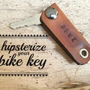 Hipsterize Your Bike Key
