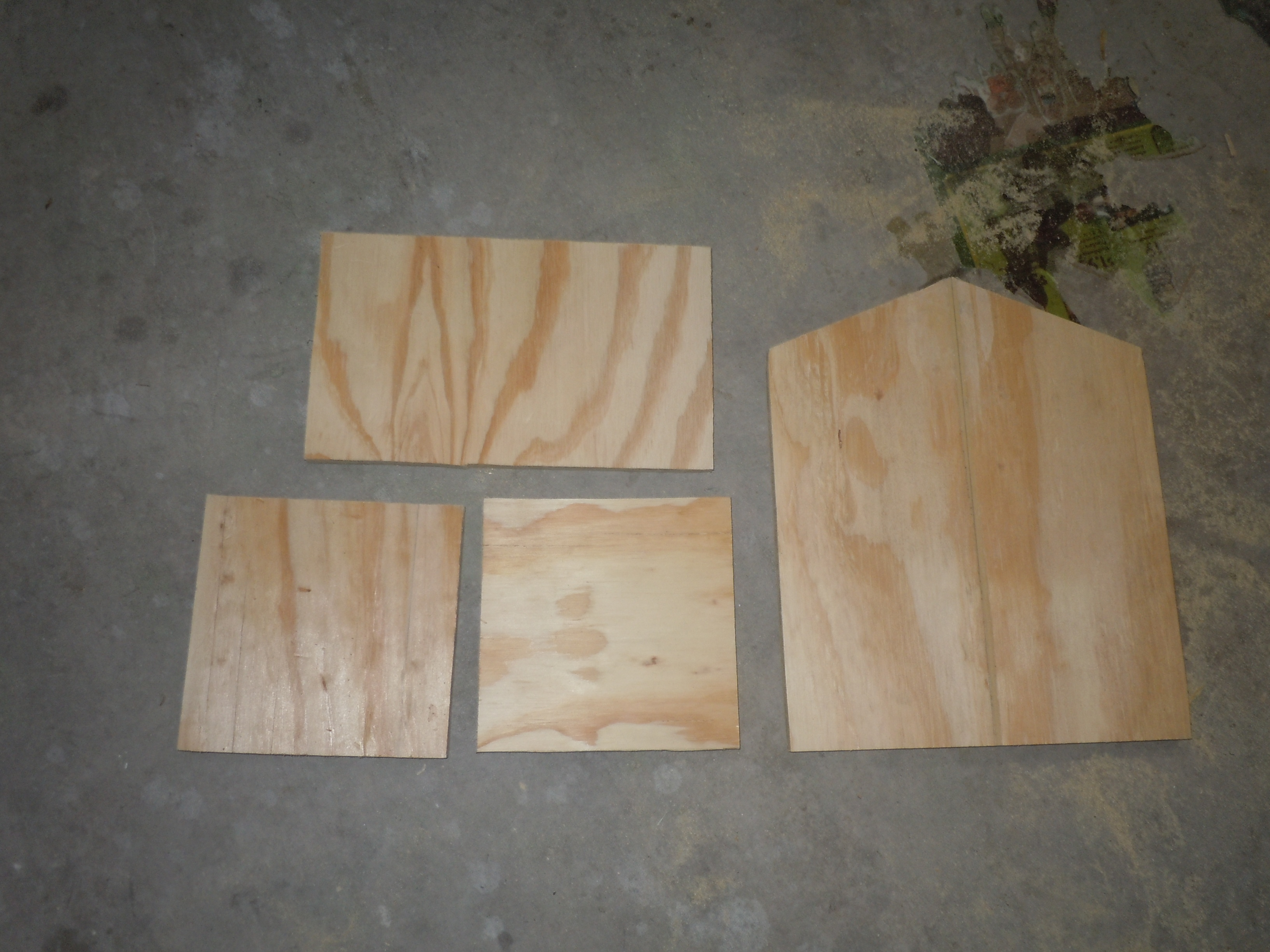 Picture of Measuring and Cutting the Wood