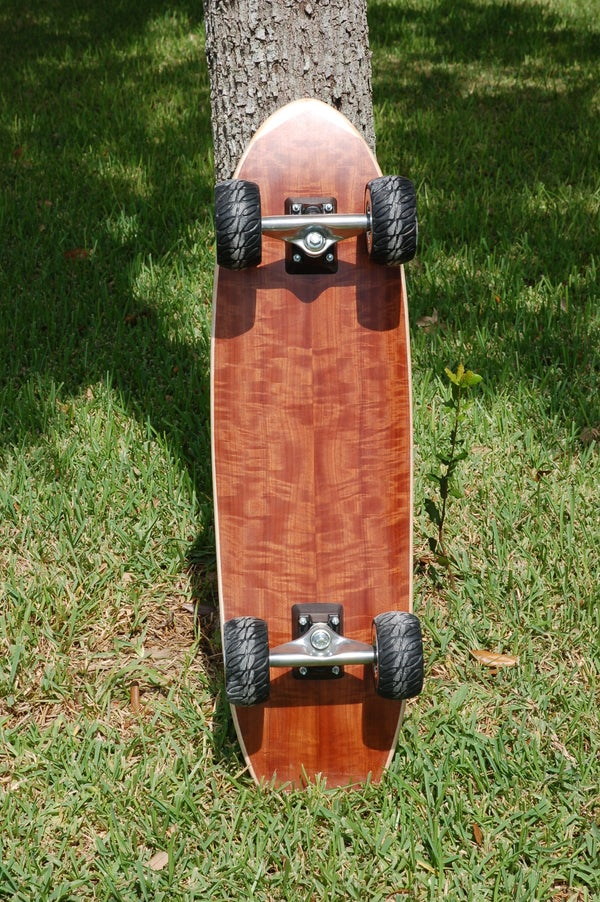 Composite Sandwich Skateboard