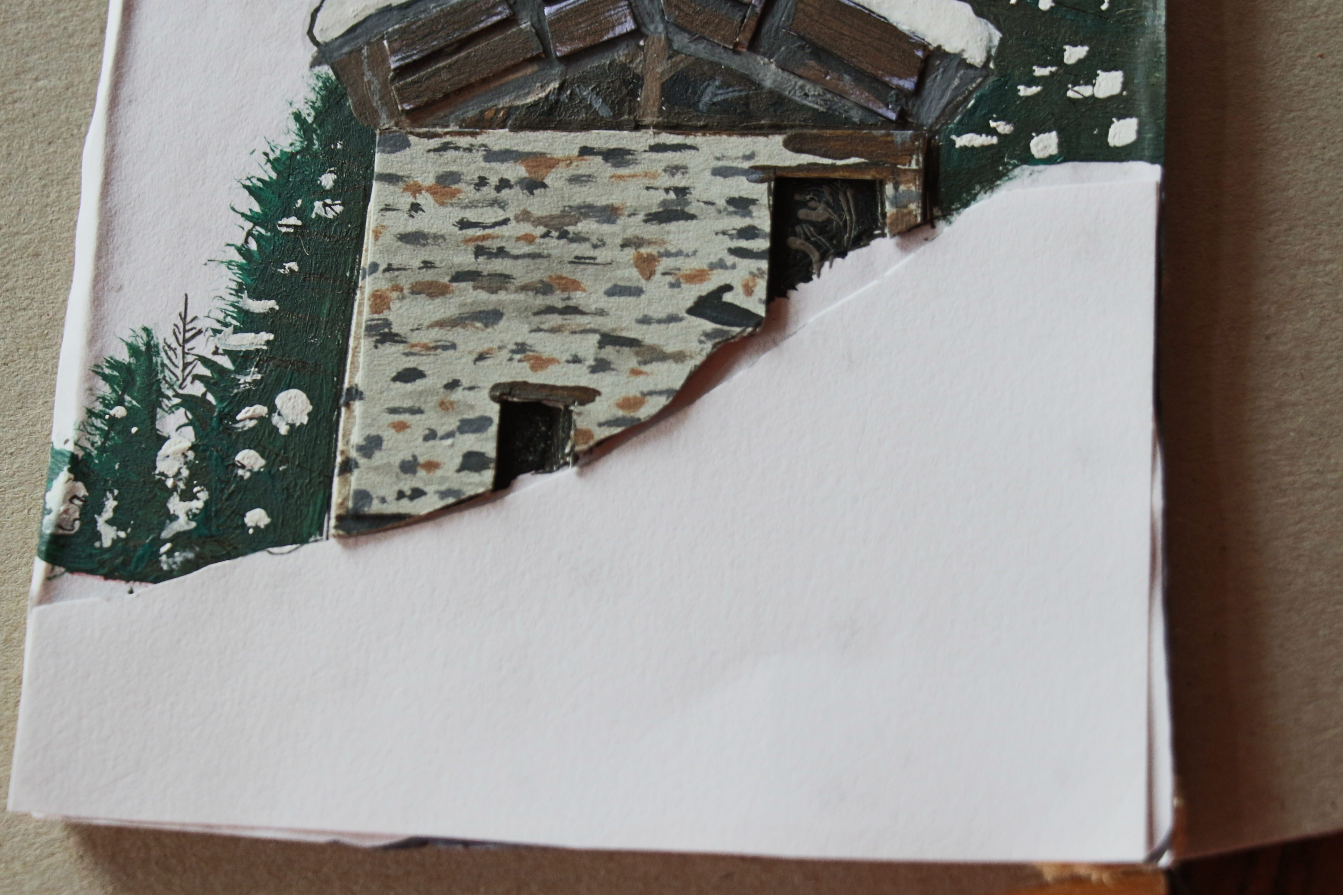 """Picture of Building Up the """"frontground """" Snow"""