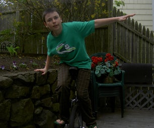 Unicycling- Introduction and the Basics