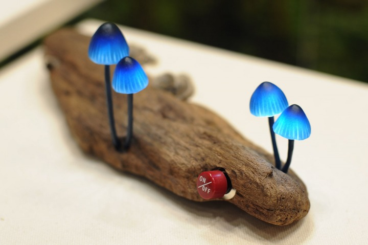 Picture of Mushroom Lamps!