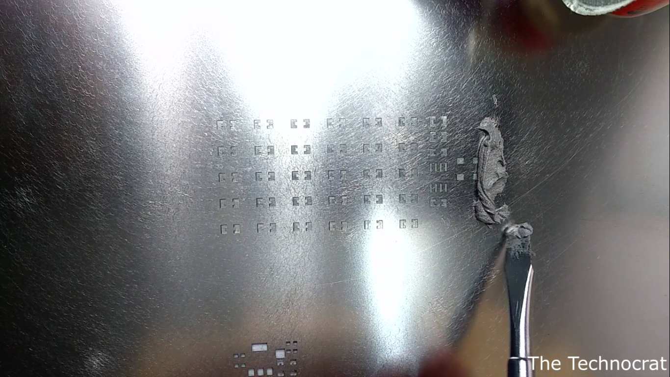Picture of Hot Plate Soldering