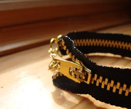 Cute Yet Edgy Zipper Bracelet Tutorial!!!