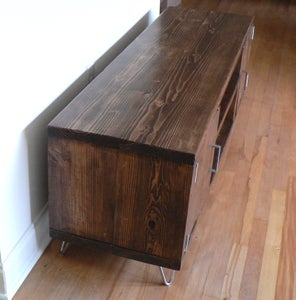 Reclaimed Wood Entertainment Console
