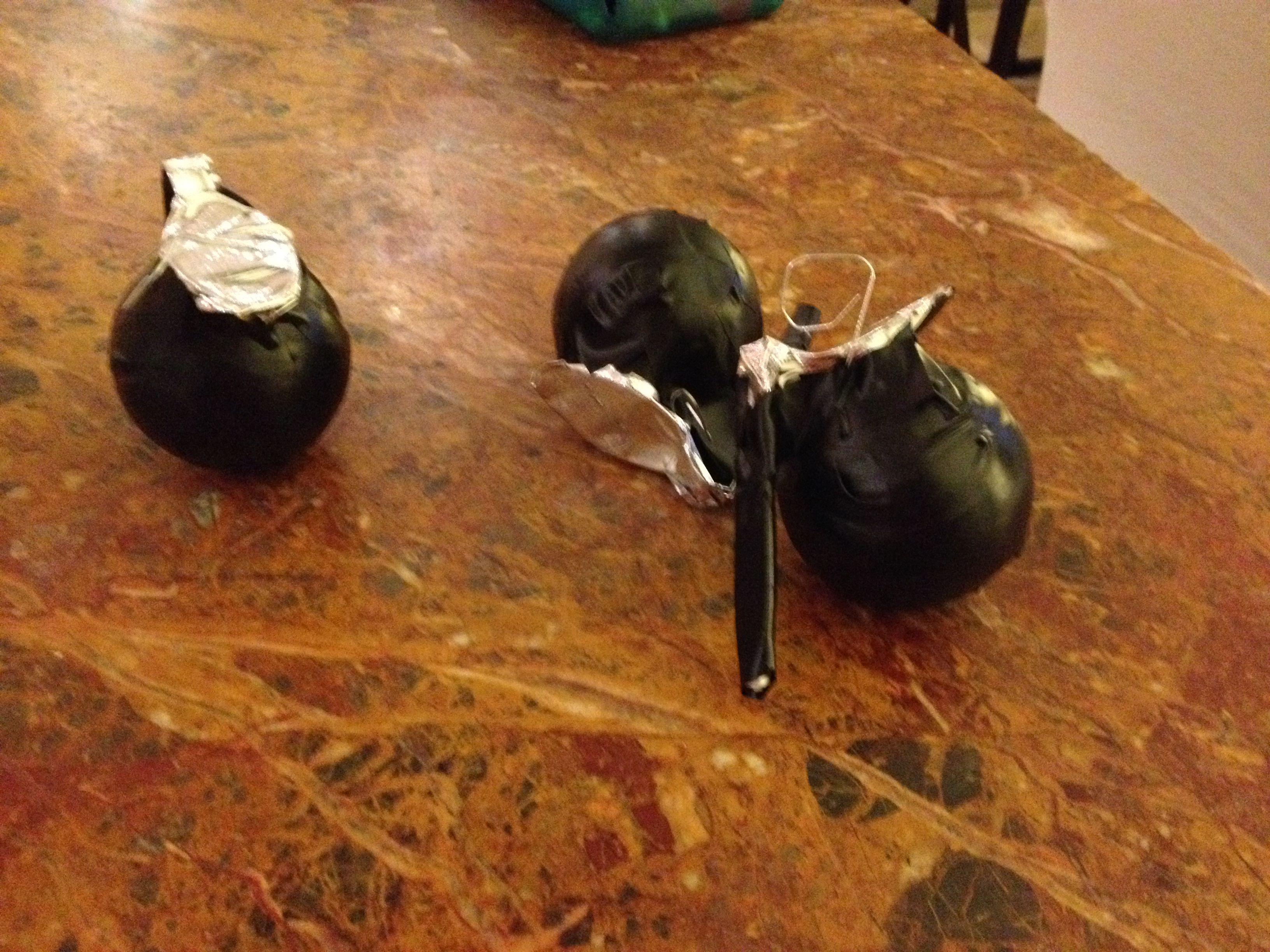 Picture of Easy to Make Dummy Baseball Grenades