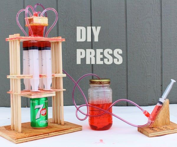 How to Make a Powerful Hydraulic Press