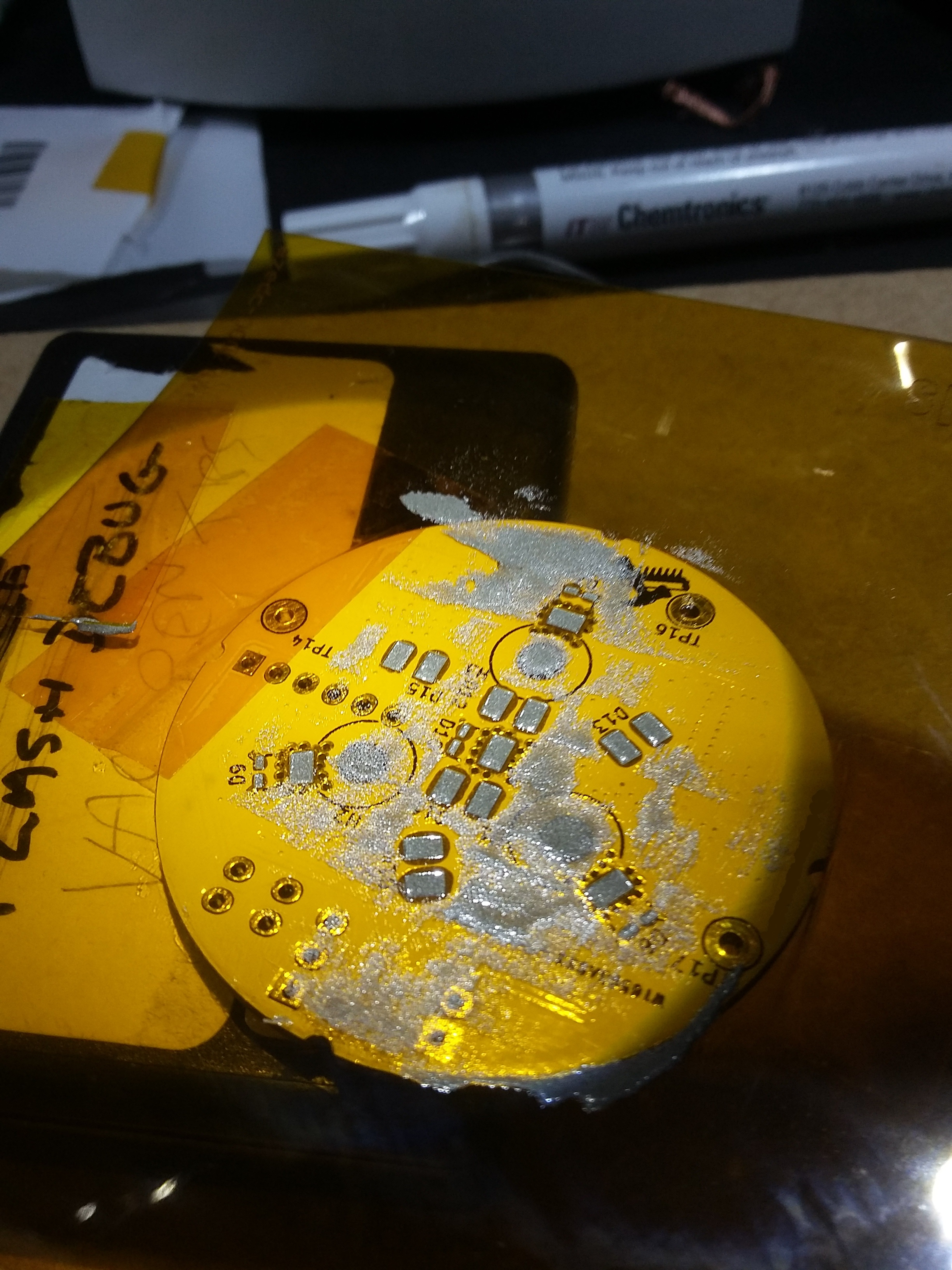 Picture of Apply Some Solder Paste and Spread It