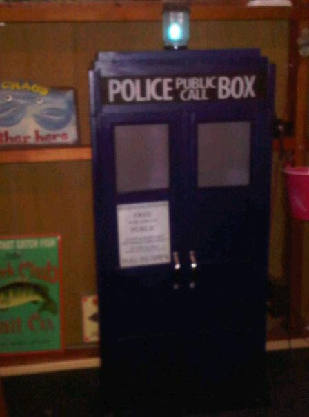 Picture of Tardis Cabinet