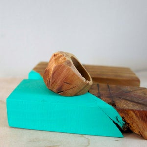 Make a Chunky Wooden Ring