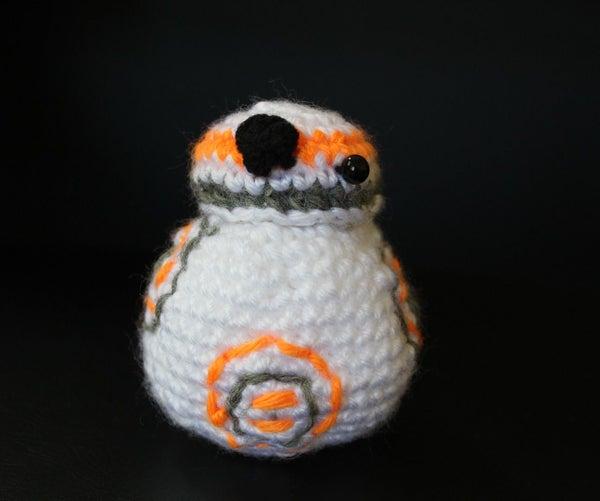 Crochet BB8 Pattern