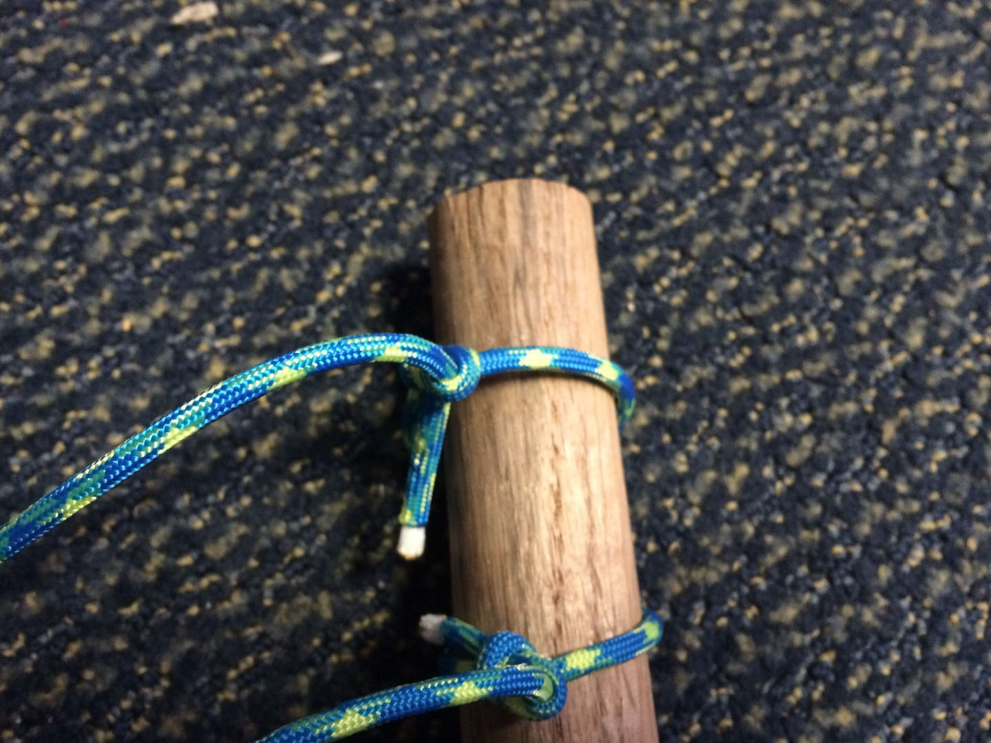 Picture of Stringing the Staff