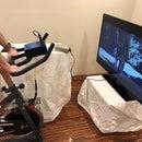 Spin Bike RC Motor Pedal Generator
