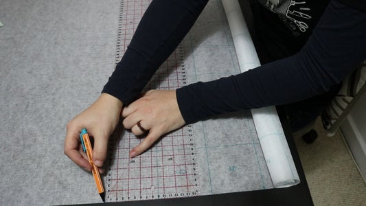 Draw a Grid on Your Interfacing