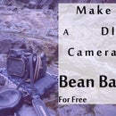 DIY Camera Bean Bag