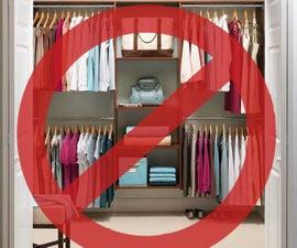 No Closet? No problem!