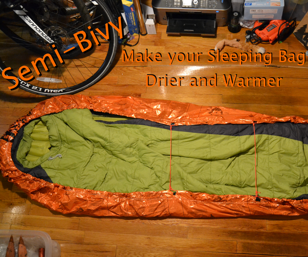 Semi-Bivy: Keep Your Sleeping Bag Dry and Warmer