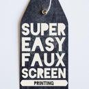 Faux Screen Print-esque Shirt