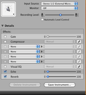Picture of Adding Effects