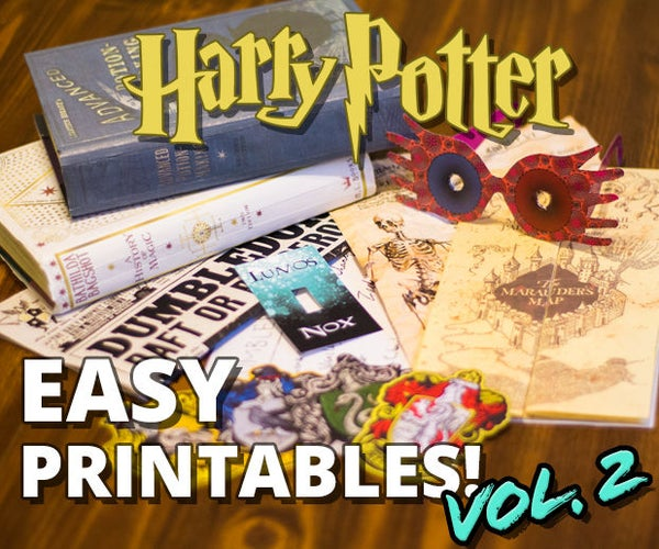 Harry Potter Printables Vol. 2