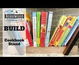 Cookbook Stand   a DIY Tutorial
