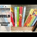 Cookbook Stand | a DIY Tutorial