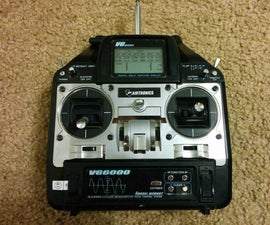 72 MHz to 2.4 GHz RC radio conversion